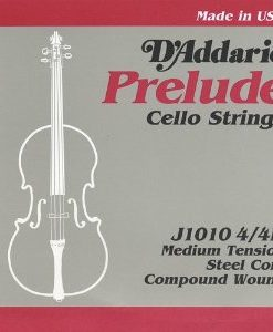 D'Addario Prelude 4/4 Cello String Set Medium